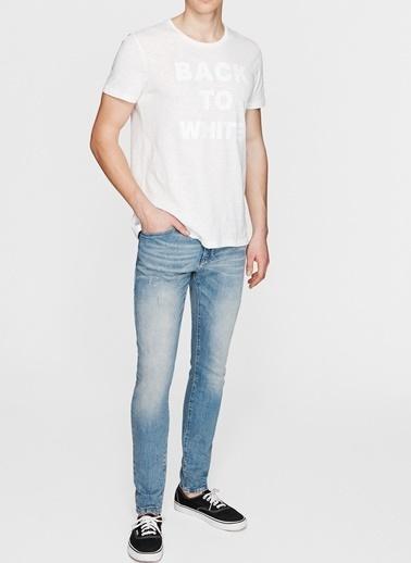Mavi Mavi Açık Mavi Denim Pantolon Renksiz